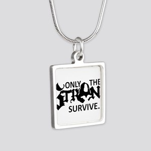 Only Strong Chi Upsilon Sigma Necklaces
