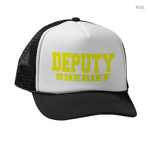 5443b39bab1 Police Officer Kids Trucker Hats - CafePress