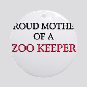 Proud Mother Of A ZOOARCHAEOLOGIST Ornament (Round