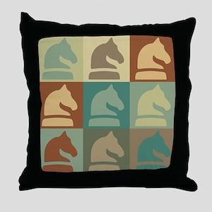 Chess Pop Art Throw Pillow