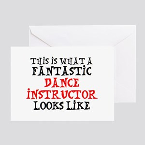 fantastic dance instructor2 Greeting Card