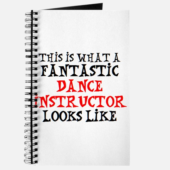 fantastic dance instructor Journal