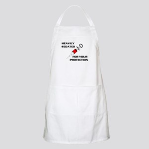 SEDATED FOR SAFETY BBQ Apron