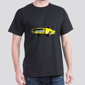 1968 Charger in Yellow with Black Top T-Shirt