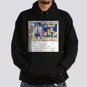 Call A Meeting Hoodie (dark)
