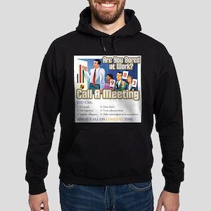 Call A Meeting Hoodie (dark)