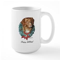 Toller Christmas Large Mug