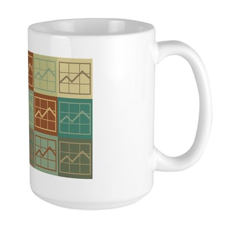 Budget Analysis Pop Art Large Mug