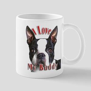 Boston Terrier Buddy Mug