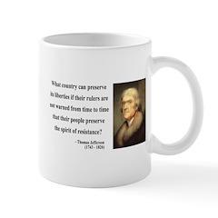 Thomas Jefferson 25 Mug