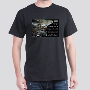 sharks of the world Dark T-Shirt