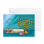 Masonic Chanukkah Greeting Cards (Pk of 10)