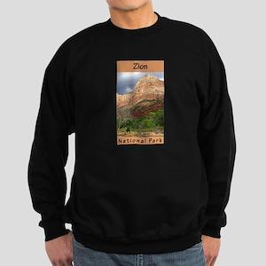 Zion National Park (Vertical) Sweatshirt (dark)