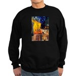 Cafe - Airedale (S) Sweatshirt (dark)