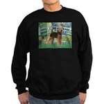 Bridge - Airedale #6 Sweatshirt (dark)