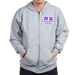 I'm 2 - You've Been Warned! Zip Hoodie