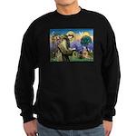 St. Francis Cairn Sweatshirt (dark)
