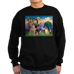 St Francis/Shar Pei #5 Sweatshirt (dark)