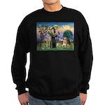 St Francis Golden Sweatshirt (dark)