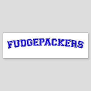 Fudgepackers Sticker (Bumper)