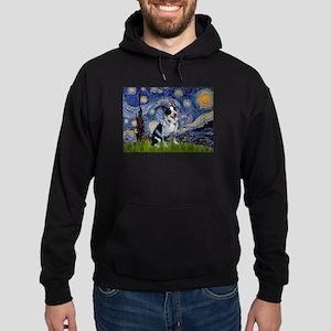Starry Night/ Australian Catt Hoodie (dark)