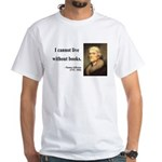 Thomas Jefferson 27 White T-Shirt