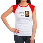 Thomas Jefferson 27 Women's Cap Sleeve T-Shirt