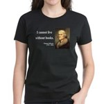 Thomas Jefferson 27 Women's Dark T-Shirt