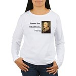 Thomas Jefferson 27 Women's Long Sleeve T-Shirt
