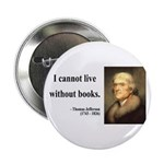 "Thomas Jefferson 27 2.25"" Button"