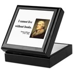 Thomas Jefferson 27 Keepsake Box