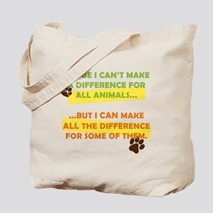 Making a Difference Tote Bag