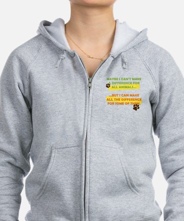 Making a Difference Zip Hoodie