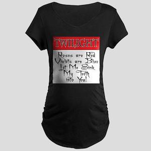 Twilight T-Shirts Maternity Dark T-Shirt