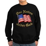 One Nation Under God Sweatshirt (dark)