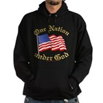 One Nation Under God Hoodie (dark)