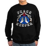 Peace Keeper Guns Sweatshirt (dark)
