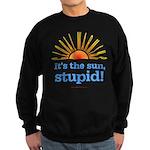 Global Warming Sun Sweatshirt (dark)