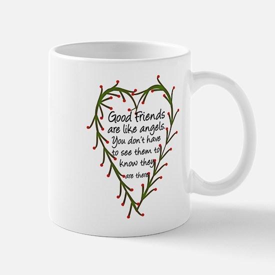 Friends Are Like Angels Mug