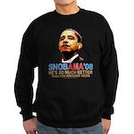 SNOBAMA '08 Sweatshirt (dark)