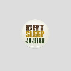 Eat Sleep Ju Jitsu Mini Button
