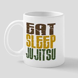 Eat Sleep Ju Jitsu Mug