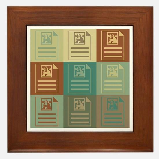 Archives Pop Art Framed Tile