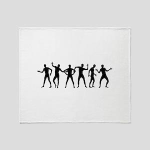 Morphsuits Robot Dance Shirt Throw Blanket