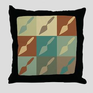 Archaeology Pop Art Throw Pillow