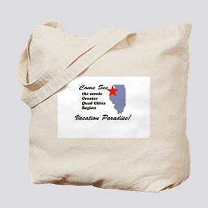 Come See The Quad Cities Tote Bag