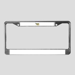 Ferret weasel Marten small rod License Plate Frame