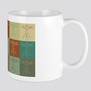 Anthropology Pop Art Mug