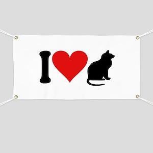 I Love Cats (design) Banner