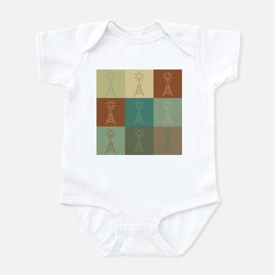 Amateur Radio Pop Art Infant Bodysuit
